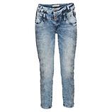 Jeans mit Ziersteinen 64cm, denim