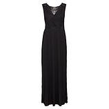 Elegantes Kleid mit Spitze, schwarz