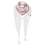 Schal mit Flamingo-Print, gladiole