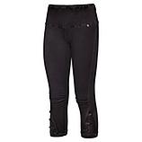 Baumwoll-Leggings mit Verzierung 55cm, schwarz