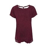 Basic Shirt mit Ziersteinen, calla