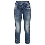 Lässige Jeans mit Ziersteinen 64cm, denim