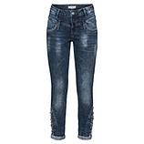Jeans mit Schmucksteinen 72cm, denim