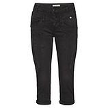 Hose mit Ziersteinen 55cm, schwarz