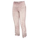 Baumwoll-Leggings mit Ziersteinen 55cm, rosenholz