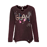 Sweatshirt mit GLAM-Motiv, calla