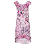 Kleid mit Carmenausschnitt und Glitzersteine, azalee