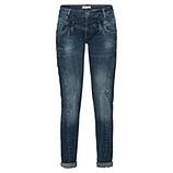 Jeans mit Glitzersteinen 76cm, denim