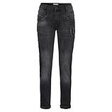 Jeans mit Schmucksteinen 80cm, dark grey