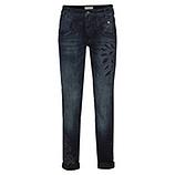 Jeans mit Loch-Optik 80cm, denim