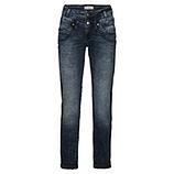 Jeans mit gradem Beinverlauf 80cm, dark blue