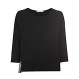 COSY Oversize Shirt, schwarz