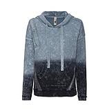 Kapuzen-Pullover mit Zierbändern, navy
