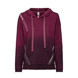 Kapuzen-Pullover mit Zierbändern, calla