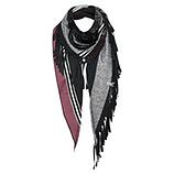 Schal mit vielseitigen Designs, anthra-melange
