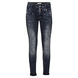 Sweat-Jeans mit Galonstreifen 80cm, denim