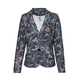 Blazer im Camouflage-Look, denim
