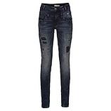 Jeans mit Patches 80cm, denim