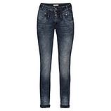 Sweat-Jeans mit Glitzersteinchen 80cm, denim