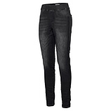 Jeggings mit Galonstreifen aus Pailletten 76cm , black