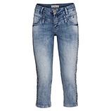 Jeans mit Nieten 55cm, denim