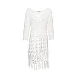 Kleid in Häkel-Optik, offwhite