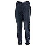 Sweat-Jeggings mit Glitzer- Galonstreifen 70cm, dark blue