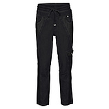 Jogging-Pant mit Animal-Optik, schwarz