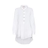 Hemd im Oversize-Look, weiß