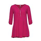 Bluse mit Reißverschluss, pinkberry