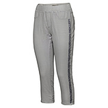 Jeggings mit Pailletten, light grey crashed