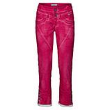 Hose mit Galonstreifen 64cm, hot pink