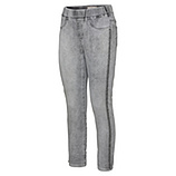 Jeggings mit Nieten 66cm, light grey crashed