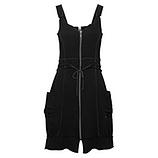 Kleid 100% Cotton, schwarz