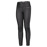 Baumwoll-Leggings in Leder-Optik, magnet