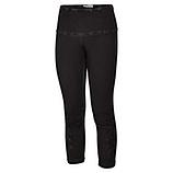 Baumwoll-Leggings mit Stern-Motiv 55cm, schwarz