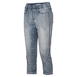 Jeggings mit Ziersteinchen 55cm, blue denim