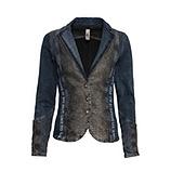 Jeans -Blazer in dark blue Denim