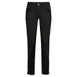 Hose mit Samt 76cm, schwarz