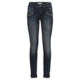 Sweat-Jeans mit Glitzersteinchen 80cm, dark blue