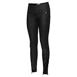 Baumwoll-Leggings mit Leder-Optik 70cm , schwarz