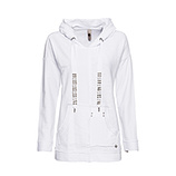 Hoodie 100% Cotton, weiss