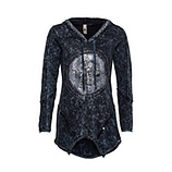 Sweat-Shirt mit Stern-Design, night