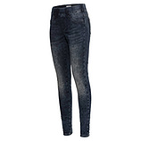 Jeggings im used-Look 78cm, dark blue