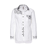 Bluse 100% Cotton, weiss