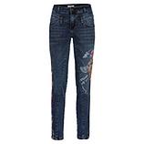 Sweat-Jeans mit Drachen-Motiv 76cm, dark blue