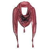 GESCHENKIDEE: Schal mit Print, cranberry