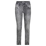 Sweat-Jeans mit Glitzersteinen 70cm, grey