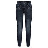 Sweat-Jeans mit Nieten 70cm, dark blue