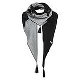 GESCHENKIDEE: Schal mit Schnalle, schwarz